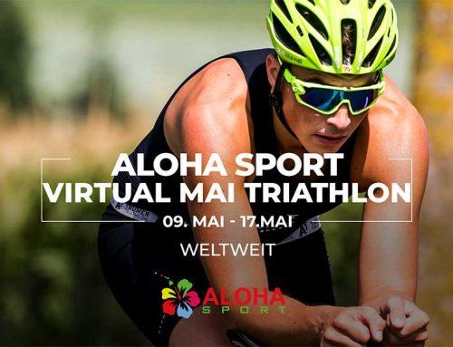 ALOHA SPORT startet ersten virtuellen ALOHA Virtual Mai Triathlon